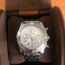 Breitling pre-owned Automatic 44mm Silver Sapphire Glass 50 ATM