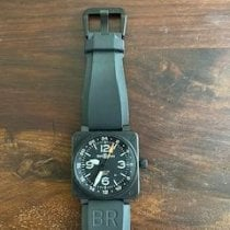Bell & Ross Steel 46mm Automatic BR-01-93-GMT pre-owned Singapore, United Kingdom