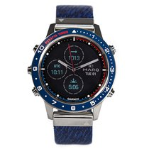 Garmin Titanium Quartz Silver No numerals new