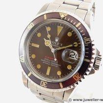 Rolex Submariner Date Stahl Braun