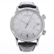 Jaeger-LeCoultre Steel 39mm Automatic Master Memovox pre-owned