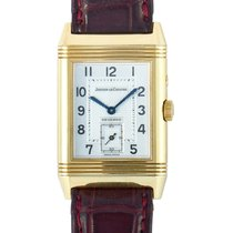 Jaeger-LeCoultre Yellow gold White Arabic numerals pre-owned Reverso (submodel)
