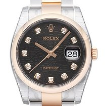 Rolex Datejust 36mm Edelstahl / Roségold Ref. 116201 Jubilé Dia