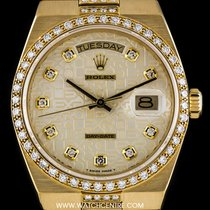 Rolex Very Rare Diamond Set Oysterquartz Day-Date 19148