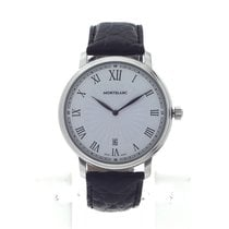 Montblanc Steel 40mm Quartz 112633 new
