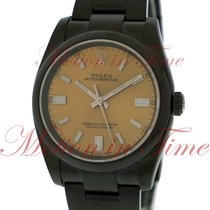 Rolex Oyster Perpetual 36 116000 wgio Black PVD/DLC pre-owned