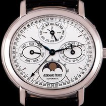 Audemars Piguet Millenary Oro blanco 39mm Blanco