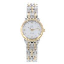 Omega DeVille 424.20.24.60.05.001 Gold& Steel Ladies Watch...