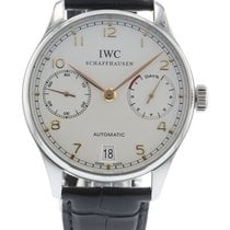 萬國 Portuguese Automatic 7-Day IW5007-04 Watch with Leather...