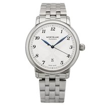 Montblanc Steel 42mm Automatic 117324 new