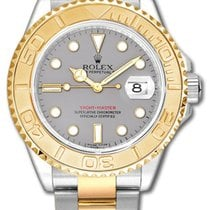 Rolex Yacht-master Stainless Steel And 18k Yellow Gold