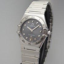Omega Constellation Ladies Steel 25mm Grey