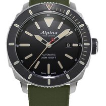 Alpina Steel Automatic Seastrong new