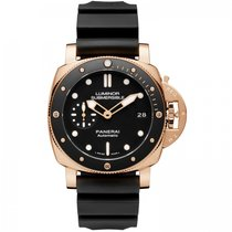 Panerai Luminor Submersible 1950 3 Days Automatic Red gold 42mm Black United States of America, Iowa, Des Moines