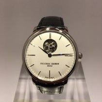 Frederique Constant Slimline Heart Beat Automatic Steel 40mm Silver