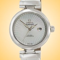 Omega De Ville Ladymatic Steel 34mm Mother of pearl United States of America, Illinois, Northfield