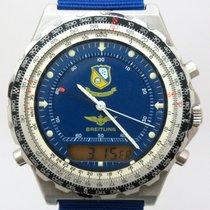 Breitling Jupiter Pilot Stahl 41,5mm Blau Keine Ziffern