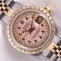 Rolex Acél Automata Pink 26mm használt Lady-Datejust