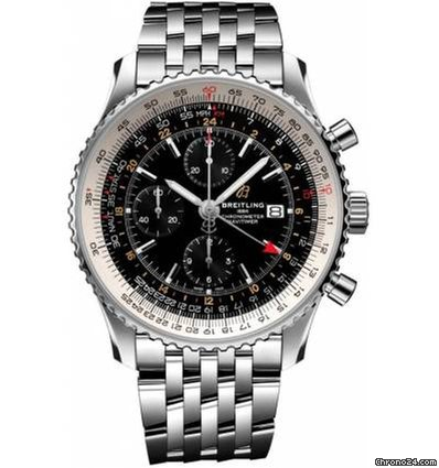 61a2cb13c Breitling NAVITIMER 1 CHRONOGRAPH GMT 46 Ref. A24322121B2A1 for $5,815 for  sale from a Trusted Seller on Chrono24