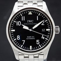 IWC Pilot Mark 39mm Negro Árabes