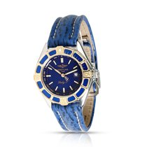 Breitling Lady J Gold/Steel 30mm Blue United States of America, New York, New York