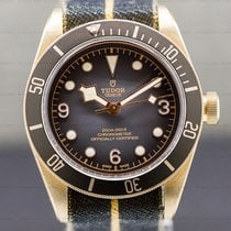 Tudor Black Bay Bronze 43mm Arabic numerals