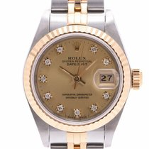 Rolex Yellow gold 25mm Automatic 69173G pre-owned