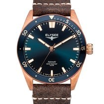 Elysee Bronze Automatic Blue No numerals 41mm new