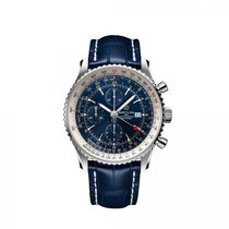 Breitling Navitimer GMT A24322121C2P1 new