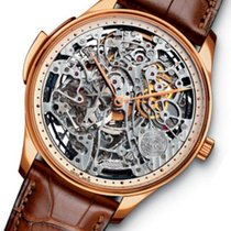 IWC Portuguese Minute Repeater Or rose 42mm Transparent