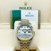 Rolex Datejust 116233 Unworn Gold/Steel 36mm Automatic