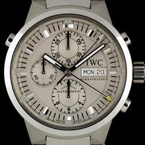 IWC S/S Silver Dial Rattrapante Chronograph Gents B&P...