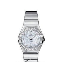 Omega Constellation Quartz Diamonds 27mm Steel