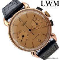 Universal Genève Chronograph Compax vintage steel and rose...