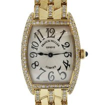 Franck Muller Curvex Aftermarket All Diamond No. 521 Ladies Watch