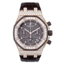 Audemars Piguet Royal Oak Diamond Chronograph 18 kt Rose Gold...