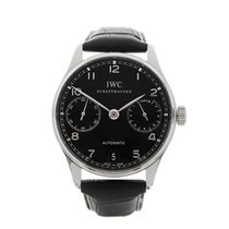 IWC Portuguese 7 Day Stainless Steel Gents IW500109 - W4287