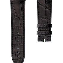 Franck Muller LONG ISLAND 24mm Black Alligator Leather Strap