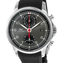 IWC Portuguese Yacht Club Chronograph Staal 43.5mm