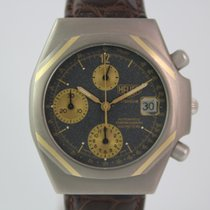 Heuer Titanium Automatik Chronograph #3420 Ref:125206