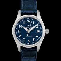 IWC Pilot's Watch Automatic 36 Steel 36.00mm Blue United States of America, California, San Mateo