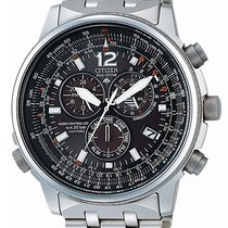 Citizen AS4020-52E Eco-Drive Promaster-Sky Funkuhr 46mm 20ATM