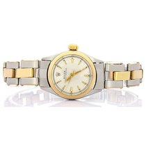 Rolex Oyster Perpetual Gold/Steel 26mm Silver