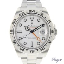 Rolex Explorer II pre-owned 42mm Steel