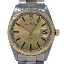 Tudor Prince Oysterdate pre-owned 34mm Steel
