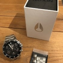 Nixon Steel Quartz A549-000 pre-owned