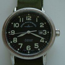 Zeno-Watch Basel Acciaio 44mm Automatico 98079 usato Italia, Roma