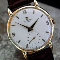 Universal Genève pre-owned Manual winding 35mm Champagne
