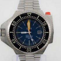 Omega Seamaster PloProf Acero 45mm Azul