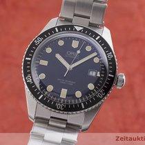 Oris Divers Sixty Five Zeljezo 42mm Plav-modar